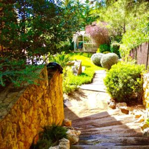 construccion de jardines rusticos en Tarragona