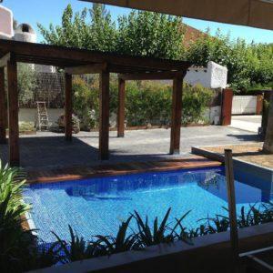 construcción de piscina tropical en Tarragona