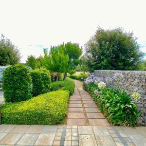 mantenimient de jardín masia can martí a Tarragona